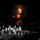 ギリシャ・アテネで開催された「ディオール」の22年クルーズコレクションの様子(2021年6月17日撮影)。(c)AFP/Aris MESSINIS