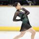 <西日本フィギュアスケート選手権第2日>女子フリー、優勝した坂本花織(撮影・小海途 良幹)