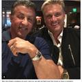 2人とも高そうな時計!(画像はシルヴェスター・スタローンのIn