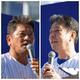 トークショーで数々の暴露話を展開した佐々木氏(左)と牛島氏(右)