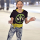 プロスケーター・荒川静香がプロデュースするアイスショー「フレンズオンアイス2013」が開演。写真は、前日に行われたリハーサル場面より。  (撮影:フォート・キシモト)  [2013年8月22日、新横浜スケートセンター/神奈川]