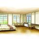 高野下駅の「駅舎ホテル」のイメージ(南海電鉄提供)