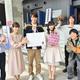 火曜ドラマ『G線上のあなたと私』現場で行われた鈴木伸之&小西はるのサプライズバースデーの様子
