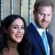 英ロンドンのカナダ・ハウスを訪問したヘンリー王子とメーガン妃(2020年1月7日撮影、資料写真)。(c)DANIEL LEAL-OLIVAS / POOL / AFP