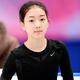 フィギュアスケートのグランプリ(GP)シリーズ、第6戦「NHK杯」から。  写真は開幕前日。公式練習にのぞむ、李子君(中国)。 (撮影:フォート・キシモト)  [2012年11月22日、宮城・セキスイハイムスーパーアリーナ]