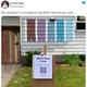 米国の一家による、奇抜な家の色選びの方法が話題に