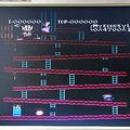 「ドンキーコング」の画面 (C)1981 NINTENDO CO.,LTD.