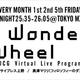 太陽企画、新音楽ライブ番組「WONDER WHEEL」を 4/2 よりTOKYO MX 1 にて地上波放送スタート