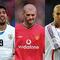 サッカー界「衝撃的瞬間」に選ばれた(左から)スアレス、キーン、ジダン【写真:Getty Images】
