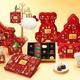 """ゴディバのクリスマス限定チョコレート、ガナッシュ入りバンドケーキ型チョコ&サンタの""""ノエル粒"""""""