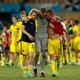 スペイン相手に守り切ったスウェーデン photo/Getty Images