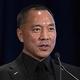 中国人実業家の郭文貴氏=2018年11月、ニューヨーク(AFP時事)