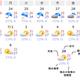 図 沖縄県那覇の16日先までの天気予報