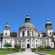 壮大な天井画に感動!ドイツアルプスの麓にある白亜のエッタール修道院