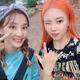 MOMOLAND ジュイ&元2NE1のDARA、仲良しショットを公開…弾ける魅力の美女たち
