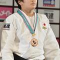 78kg級で3位の佐藤瑠香 (2013年12月1日、撮影:フォート・キシ