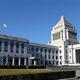 国会議事堂=東京・永田町(酒巻俊介撮影)