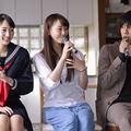 (左から)武田玲奈、松井玲奈、野田洋次郎