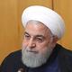 19日、テヘランで閣議に出席するイランのロウハニ大統領=イラン大統領府提供(AFP時事)