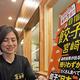 ギョーザ消費日本一を目指す宮崎市ぎょうざ協議会の渡辺愛香会長(宮崎市で)