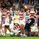 8強入りを果たした日本の国際評価はうなぎ登りだ【写真:Getty Images】