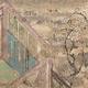 国宝「寝覚物語絵巻」(部分)平安時代後期(12世紀)、絹本着色・一巻、大和文華館蔵