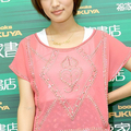 写真集の発売イベントに出席した女優の夏菜