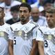 サッカードイツ代表として長く活躍した(左から)ジェローム・ボアテング、マッツ・フンメルス、トーマス・ミュラー(2018年6月17日撮影)。(c)Kirill KUDRYAVTSEV / AFP