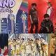 (上段左から)関ジャニ∞、ジャニーズWEST(下段左から)なにわ男子、Lil かんさい、Aぇ! group(C)フジテレビ