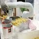 デンソーの産業用人協働ロボットが人手不足を解消する! フライドポテトを盛り付けたり、麺を定量仕分けしたりするロボット最前線