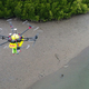新しい形のライフセーバー! 「AI搭載ドローン」がワニ、サメ、脅威から人間を救う