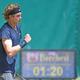男子テニス、ノベンティ・オープン、シングルス準々決勝。勝利を喜ぶアンドレイ・ルブレフ(2021年6月18日撮影)。(c)CARMEN JASPERSEN / AFP