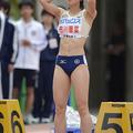 女子100mの市川華菜 (photo by Takamitsu MIFUNE/PHOTO KISHIMO