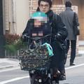 12月下旬の朝8時半、増田和也元アナを直撃。建物に逃げ込んだ増