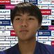 オンライン取材に応じた横浜FC・安永