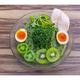 夏バテ予防にぴったり!青汁×人気ラーメン店の「冷麺」誕生