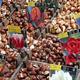 オランダの首都アムステルダムの水上花市場で売られる球根(2003年3月6日撮影)。(c)COR MULDER / AFP