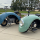 フォルクスワーゲンの「ビートル」から作られたミニバイクが最高にかわいいことに