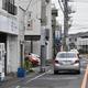 40代の男性が拳銃で撃たれ、重傷となった現場=21日、栃木市旭町(根本和哉撮影)