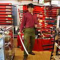 剣を構える 磯野氏