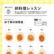 ゆで卵、何分茹でたらこうなる?がひと目でわかる早見表/(C)麦ライス/KADOKAWA