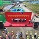 中国ラオス鉄道、最初の駅舎が棟上げ