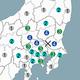 各地の主な震度(気象庁の資料から)