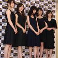 乃木坂46 / 歌手部門(ジュエリー選抜の5名=松村沙友理、白石