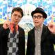 お笑いコンビ・おぎやはぎの小木博明(左)、矢作兼