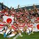 2015年のW杯で南アフリカを破った日本、今大会も再現なるか【写真:Getty Images】