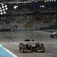 F1の第18戦、アブダビGPから。  写真は、今季初優勝を飾ったキミ・ライコネン。 (photo by DPPI/PHOTO KISHIMOTO)  [2012年11月4日、ヤス・マリーナ・サーキット/アブダビ]