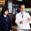 松風理咲が「日曜ワイド」で長塚京三と初共演/(C)テレビ朝日