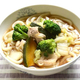 【15分時短レシピ】野菜たっぷり鶏南蛮うどん