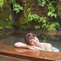 年間300以上の温泉に入湯している温泉家の北出恭子さん